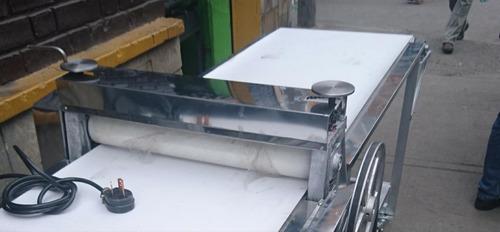 laminadora para masa de  hojaldre pan equipo eléctrico