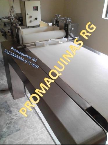 laminadora para masas arepas empanadas promaquinas rg