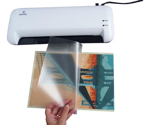 laminadora plastificadora 24 cm para carnet credencial a4