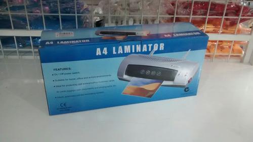 laminadora, plastificadora tamaño a4
