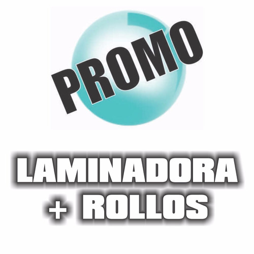 laminadora rafer 480 a3plus + rollo brillo + rollo mate!
