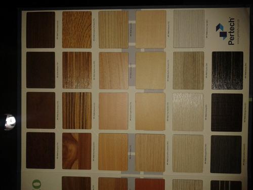 laminados pertech. variedad de colores y texturas