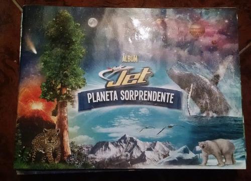 laminas album chocolatinas planeta solprendente jet normales