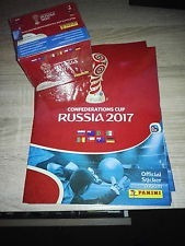 láminas álbum fifa copa confederaciones rusia 2017 panini