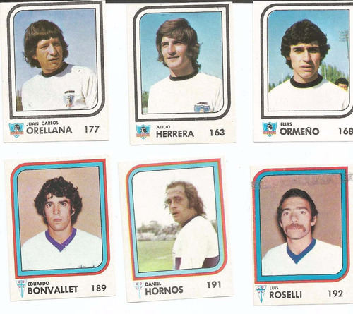laminas album futbol año 1977