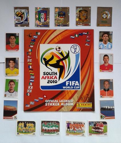 laminas álbum fútbol mundial sudáfrica 2010 panini