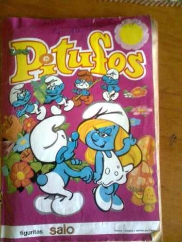 laminas album los pitufos salo año 1983