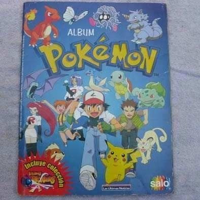 laminas album pokemon salo