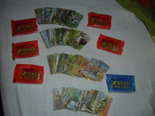 laminas album zoo color de los años 7o