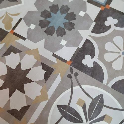 laminas azulejos vintage autoadhesivos simil calacareos 32 u