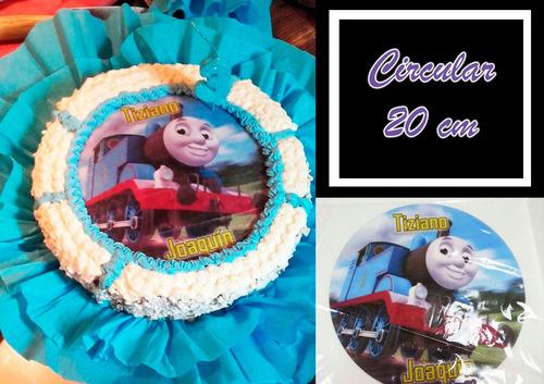 laminas comestibles - fototorta - cupcakes - l. del mirador