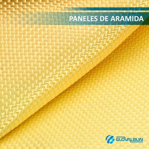 laminas de acero balístico ar-500 br / aramida / flats over