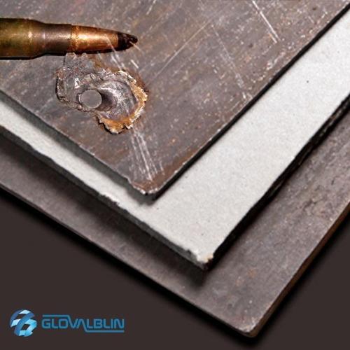 laminas de acero balístico de 3,57mm certificado