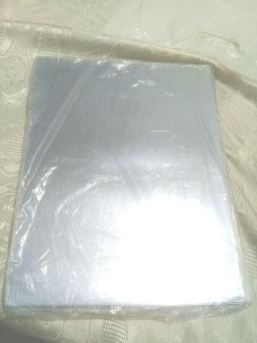 laminas de acetato transparentes paquete x 100 oferta!!