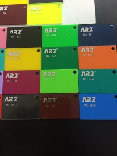 laminas  de acrilico mayor y detal 3mm