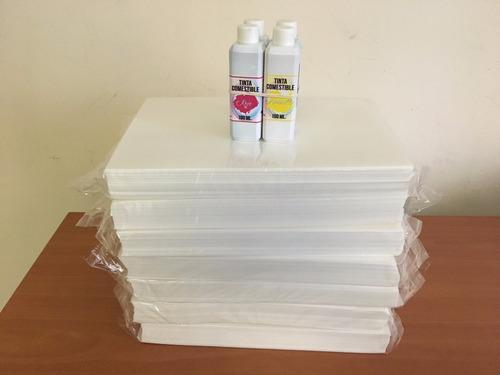 láminas de arroz 100 unid delgadas 0.05