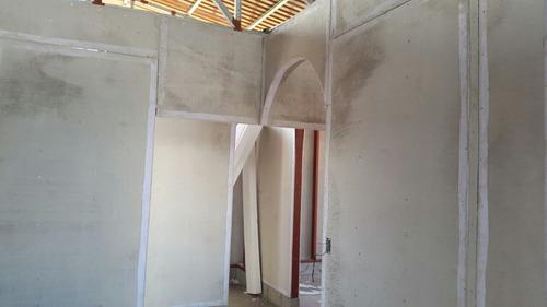 láminas de durock para paredes exteriores e interiores