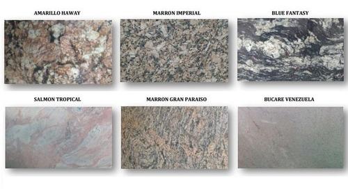 laminas de granito y cuarzo