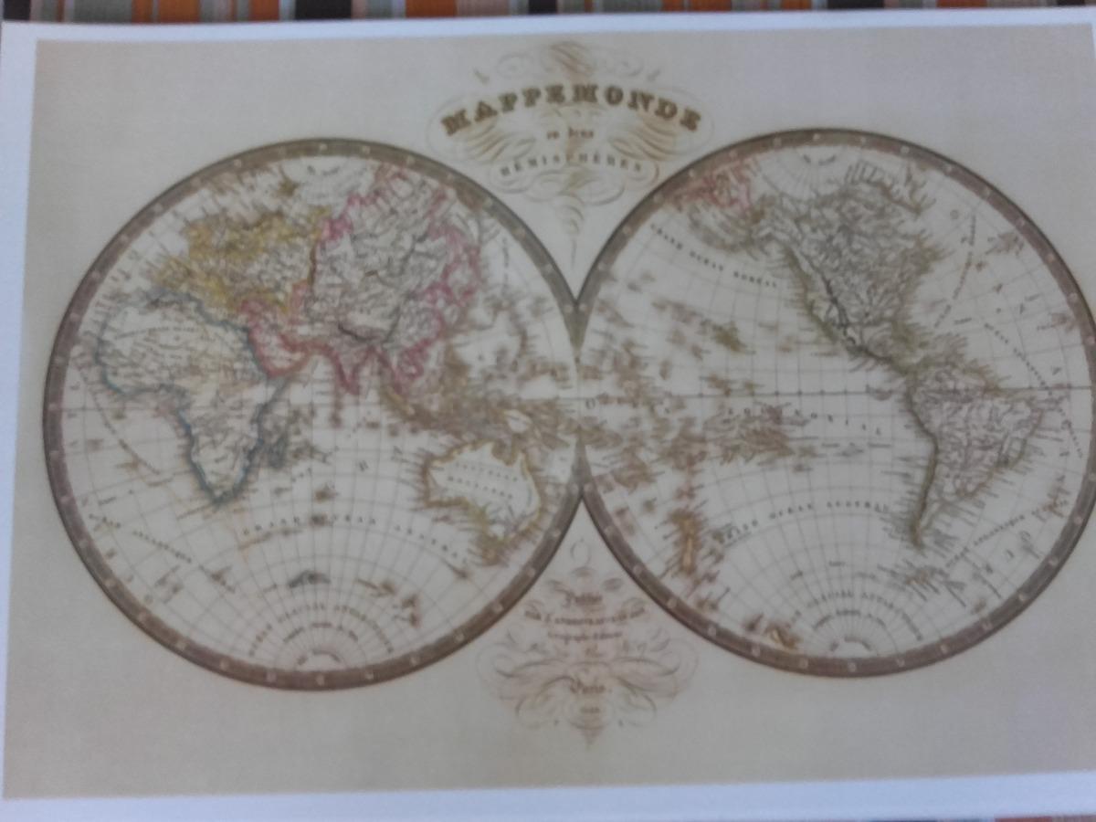 Laminas Mapas Antiguos. Litografa Alemana Mapa De En Colormapas ...