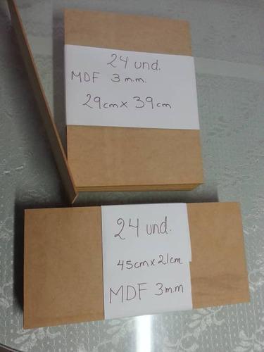 laminas de mdf 3mm por paquete