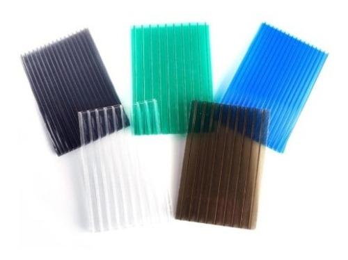 laminas de policarbonato celular 6 mm $190 mt2 cotizaciones