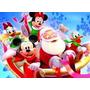 Navidad Disney - Mickey Mouse Pato Donald - Lámina 45x30 Cm.