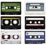Lamina 45 X 30 Cm. - Audio Y Video - Antiguos Cassettes