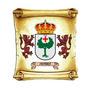 Escudo Del Apellido Ibarra - Heraldica - Lamina 45 X 30 Cm.