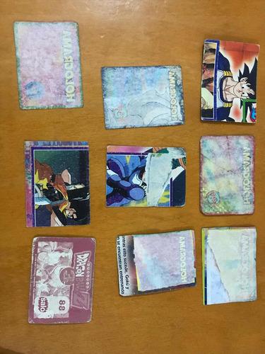 láminas del álbum dragón ball z3 desde los $1000