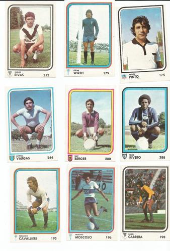 laminas grandes album futbol año 1977