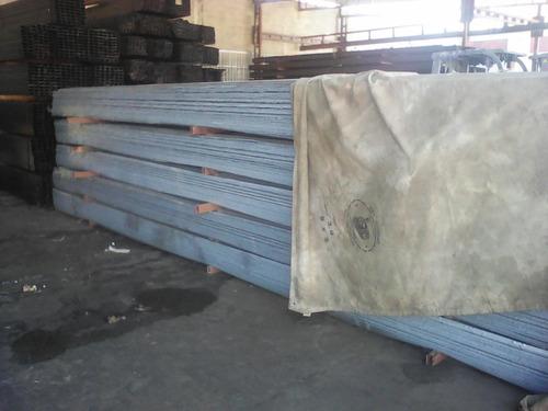 laminas losacero lamigal galvanizada 6,10x0,80x cal./22