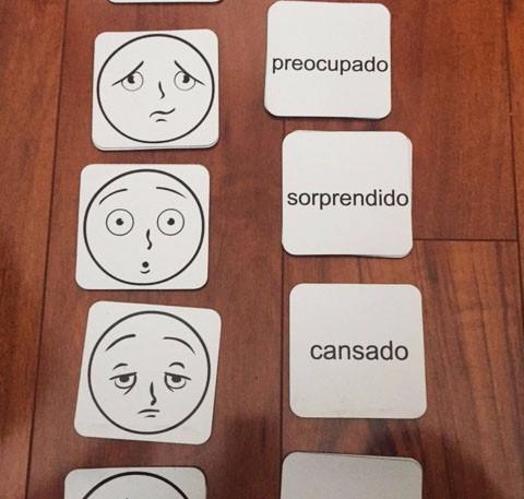 laminas magneticas didacticas infantil expresiones y gestos