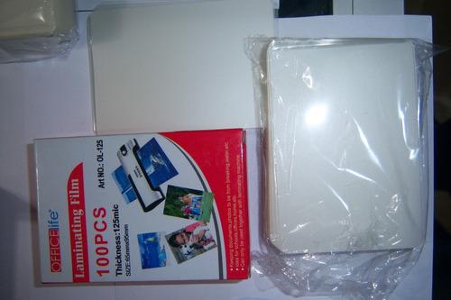 laminas micas plásticas plastificadores tamaño a3 a4 a6.free