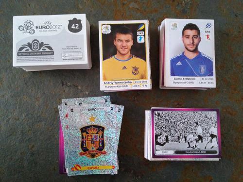 laminas o cromos álbum uefa euro2012 polonia-ucrania panini.