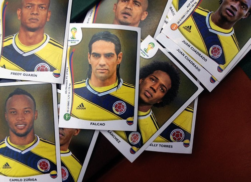laminas panini brasil 2014 mundial de futbol