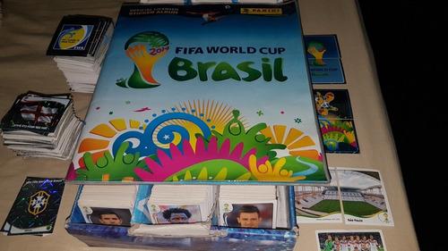 láminas panini mundial brasil 2014 $500 c/u