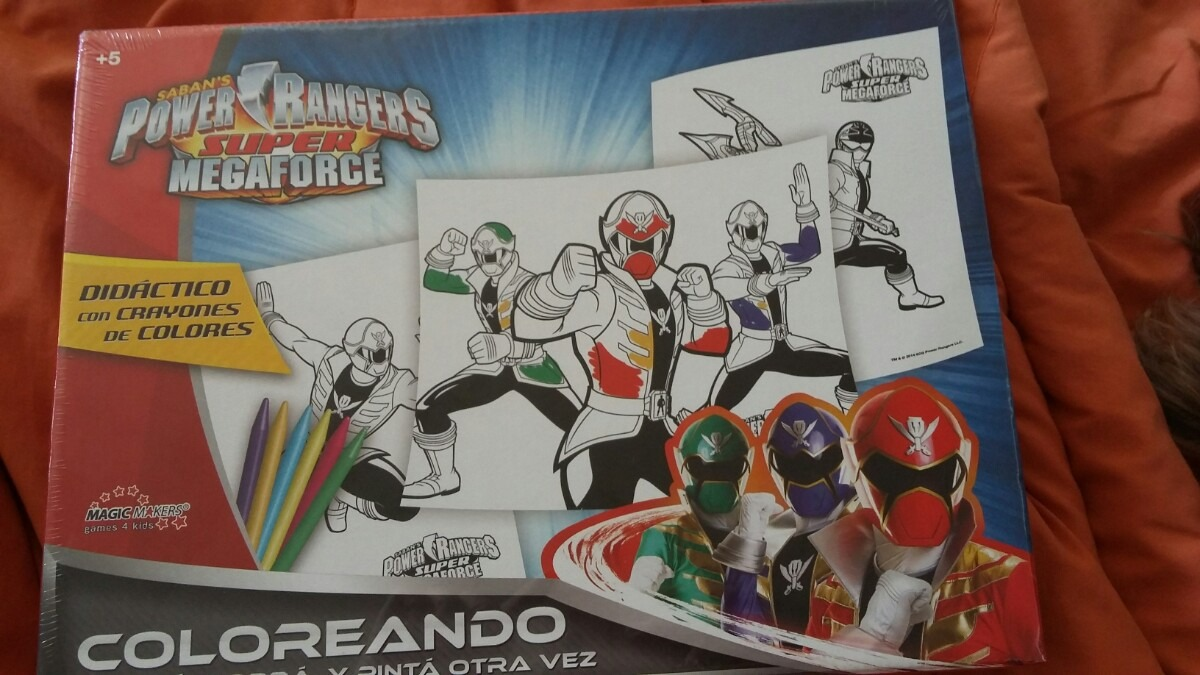 Hermosa Power Rangers Megaforce Para Colorear Imprimibles Colección ...
