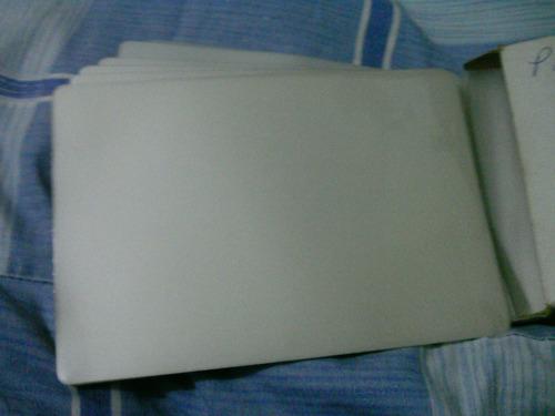 laminas para plastificar  108x157 doble carnet   80 micrones