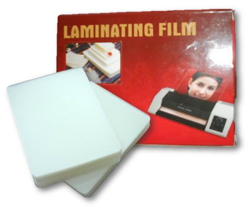 laminas para plastificar tamaño carta 175 mic