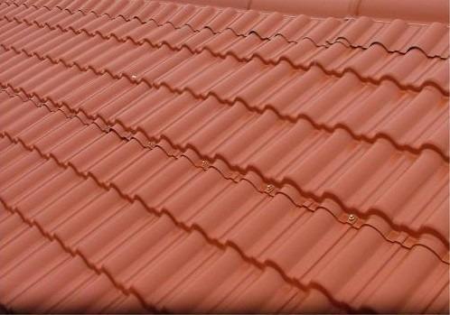 L minas para techo pvc tipo mil tejas de mts for Tipos de techos
