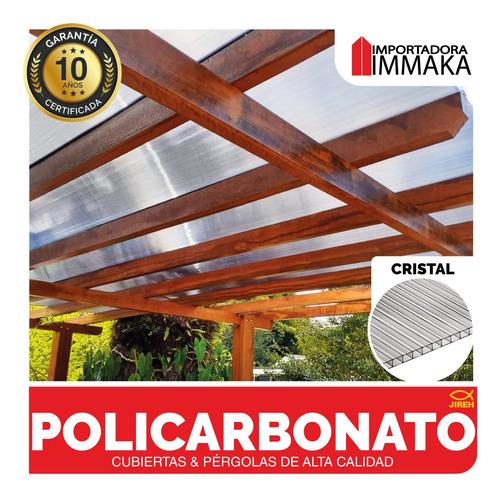láminas policarbonato alveolar techos, cubiertas pérgolas uv