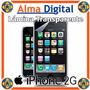 Lamina Protector Pantalla Transparente Apple Iphone 2g