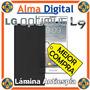 Lamina Protector Pantalla Antiespia Lg Optimus L9 Antichisme