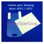 Lamina Protector D Pantalla Samsung Galaxy Music S6010 S6012