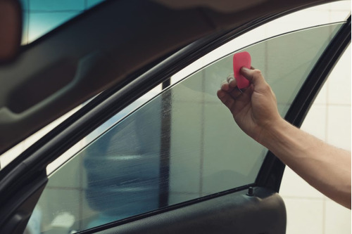 láminas seguridad auto polarizado + rain x de regalo