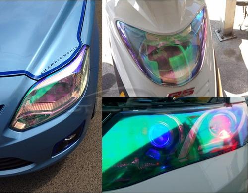 láminex camaleon farola stop carro moto tuning protección uv