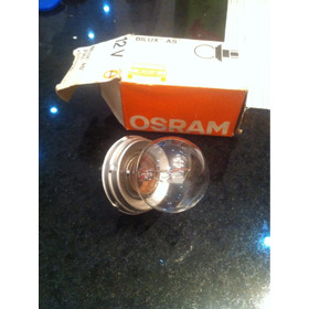 Lâmpada Antiga Osram Bilux As 45\40 W P45t Nova Sem Uso