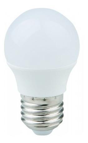 lampada bolinha led aprox 5w branco frio e27 lustre 5 peças