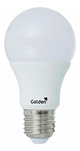 lampada bulbo led 12w golden