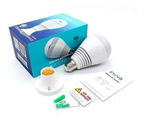 lampada camera inova espiã 360° para segurança / original / enviamos para todo brasil